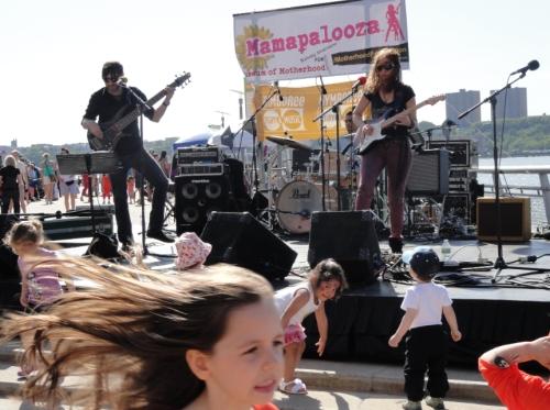 Jane Getter Band at Joy Rose's MAMAPALOOZA Festival, NYC